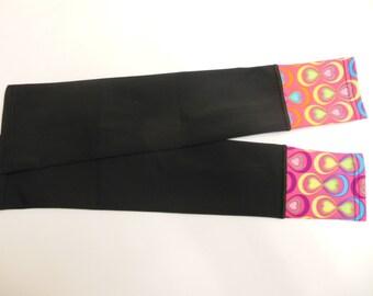 Black/ psyco-delic cuff