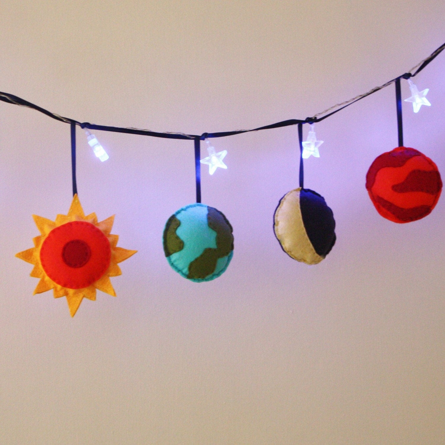 solar system fairy lights planets boys room by 14648 | il fullxfull 504116779 glzg
