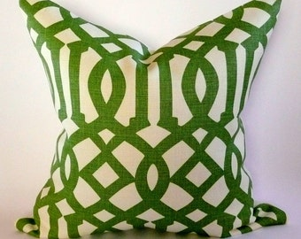Kelly Wearstler Imperial Trellis PIllow Cover in Treillage