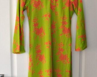 Vintage Summer Floral Transparent Light Dress