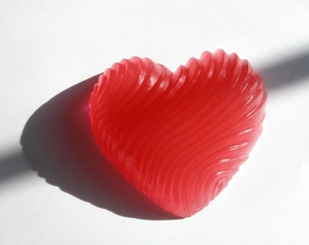 Glycerine Heart - Gift Soap - Decorative Soap - Vegan Soap