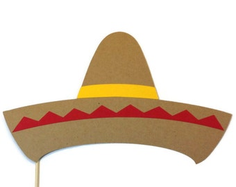 Photo Booth Props -  Cinco de Mayo Prop - Sombrero