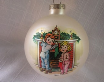 Vintage Campbell Soup Kids 1985 Christmas Ornament