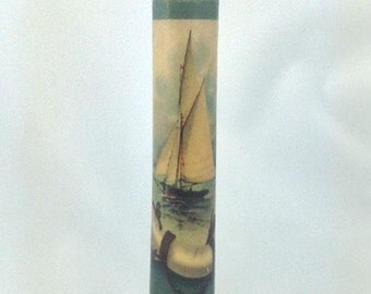 Sailboat Candle-LED Taper