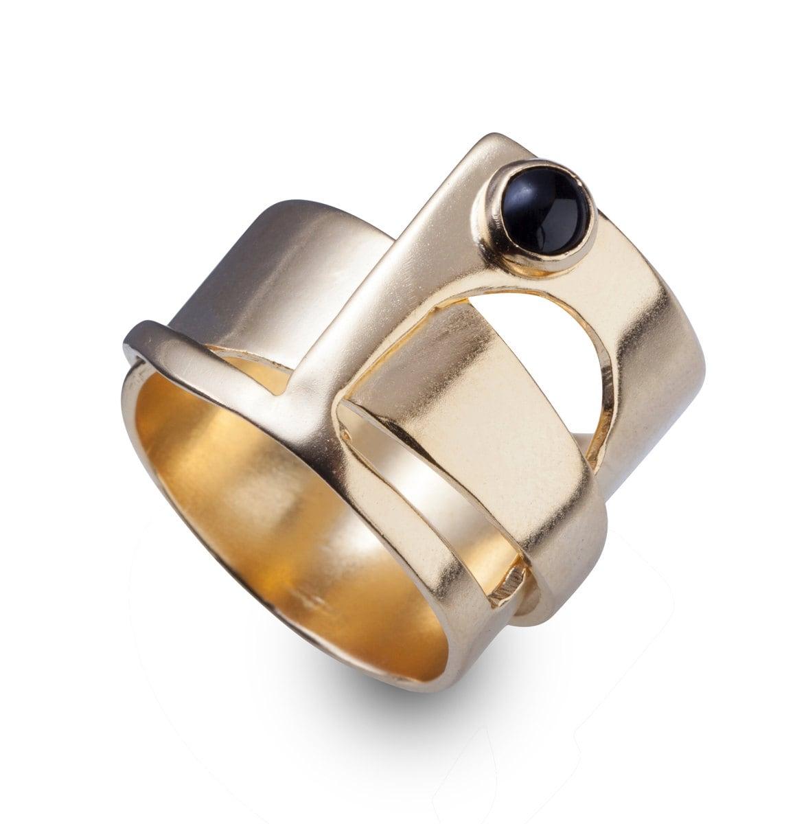 unique ring unique 14k gold rings unique jewelry