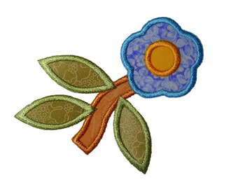 "Flower Quartet Machine Embroidery Design Pattern in 4 sizes3"", 4"", 5"" and 6"""