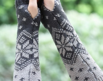 Three styles / For her Fingerless gloves, Hand warmers, Handwarmers, Arm warmers