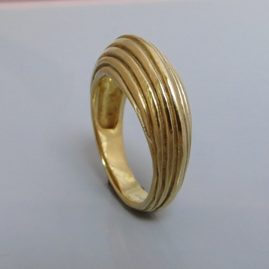 wide gold ring 14k gold ring wide band ring woman. Black Bedroom Furniture Sets. Home Design Ideas