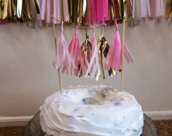 Tassel Garland Cake Toppers