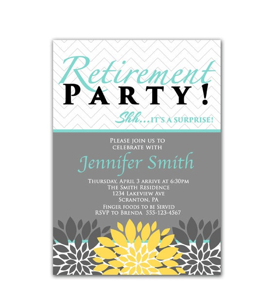 Retirement Party Invites for your inspiration to make invitation template look beautiful