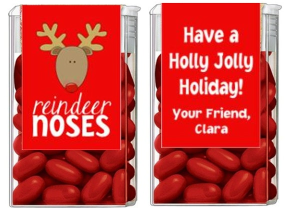 Christmas Holiday Reindeer Noses Mints Tic Tac by ...