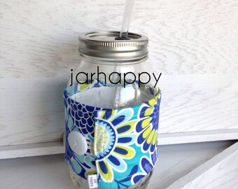 Coozie ERIKA for Mason Jar Drinking Glass Tumbler