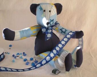 Hanukkah Bear Number One.