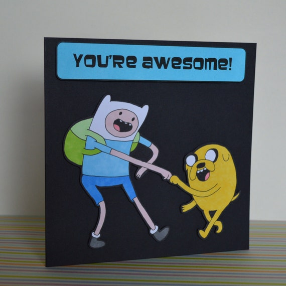 You Re Awesome: Adventure Time Knuckle Bump You're Awesome Happy By ClazaInk