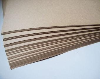 50pcs - 120gram A4 Size Kraft Paper *KP120*