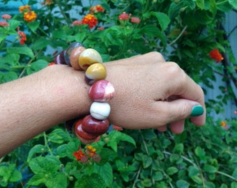 "GENUINE MOOKAITE BRACELET ""Gorgeous"""