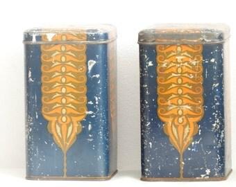 Art Deco Tins