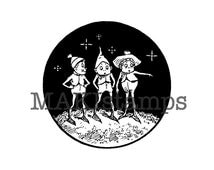 Christmas ornament Brownie winter rubber stamp (140613) - all rubber stamps unmounted or EZ mounted