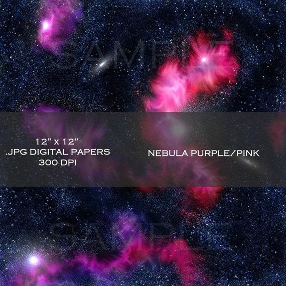 purple pink nebula - photo #42