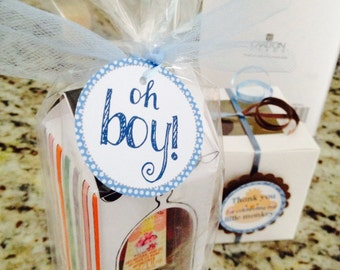 Oh boy - Favor tags