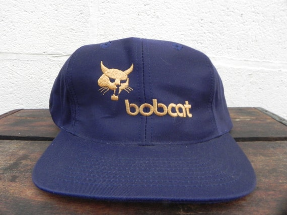 Vintage Bobcat Tractor Equipment Trucker Hat By Baltovintage 7a3461ae0615