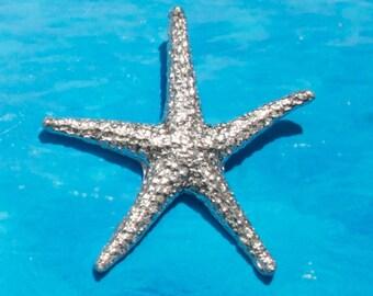Sterling Silver Starfish, LG