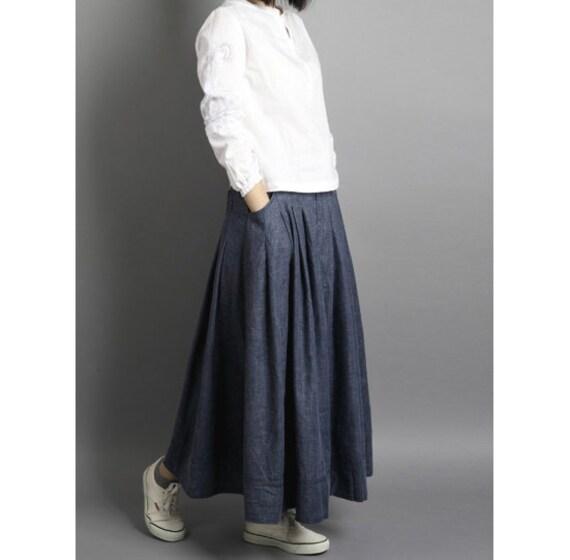 Cotton Linen Skirt 48