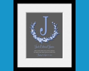 Christening Gift, Personalized Gift from Godparents, Baptism Gift, Baby Dedication Gift, 1st Communion Gift, Gift for Godchild, Baby Gift