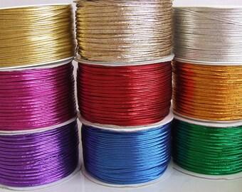 Jewelry Making Cord Metallic Soutache Braids Bead Embroidery Soutache 9x3 meter