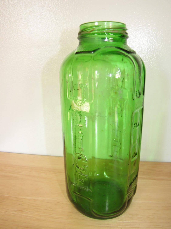 Federal glass jar Etsy