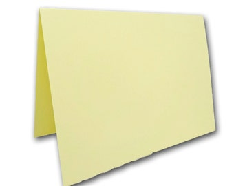 Light Yellow Place Cards 25 pack