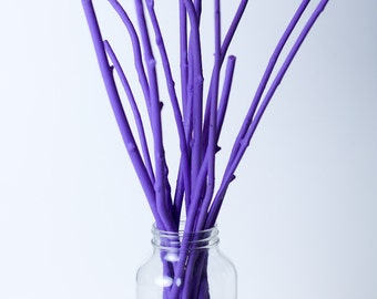 Decorative Painted Branches for Wedding Centerpieces