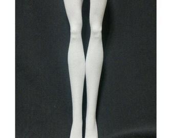 DolDolls stockings/socks for Monster high doll - Plain white #No.545