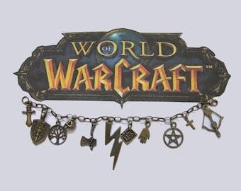 World of Warcraft Charm Bracelet