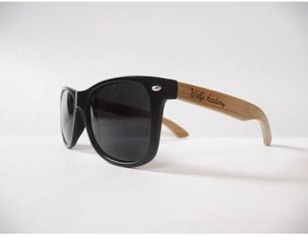 Wolfe Academy Bamboo Sunglasses