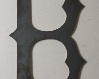 """Boston Red Sox logo made of 1/8"""" steel"""