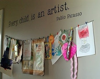Every Child is an Artist Vinyl Vinyl Wall Decal MEDIUM