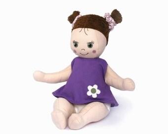 PDF Doll Pattern - Doll Laura