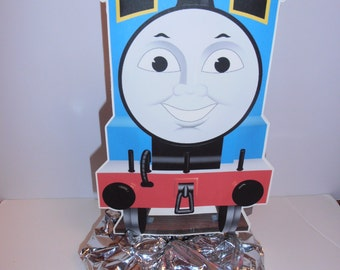 Thomas the Train centerpiece double sided