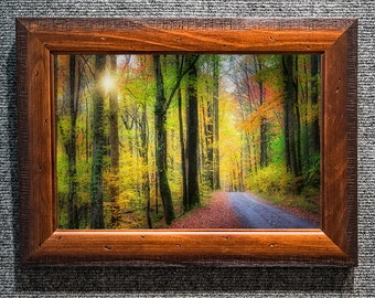Framed Smoky Mountains Pictures Autumn Colors Fine Art Photo from William Britten