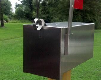 The Breadbox Handmade Stainless Steel Mailbox