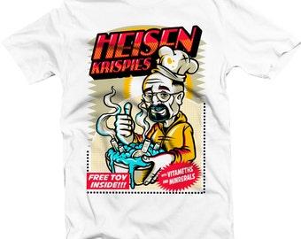 Heisen Krispie Heisenberg Better Call Saul Breaking Bad Los Pollos Hermanos Lets Cook  Walter T shirt