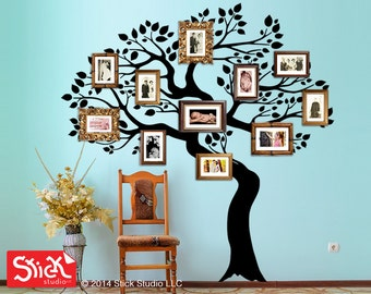 Family tree wall decal, Family tree wall sticker