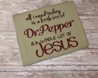 Dr. Pepper Dish Towel