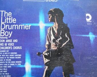 The Little Drummer Boy- Don Janse and His 60 Voice Children's Chorus-vinyl record