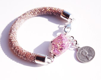 Viola stunning shining bracelet