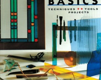 Stained Glass Basics Book, Instruction Book