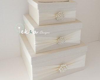 3 Tier Wedding Gift Box : box holder wedding money box wedding card holder gift card box 3 tier ...