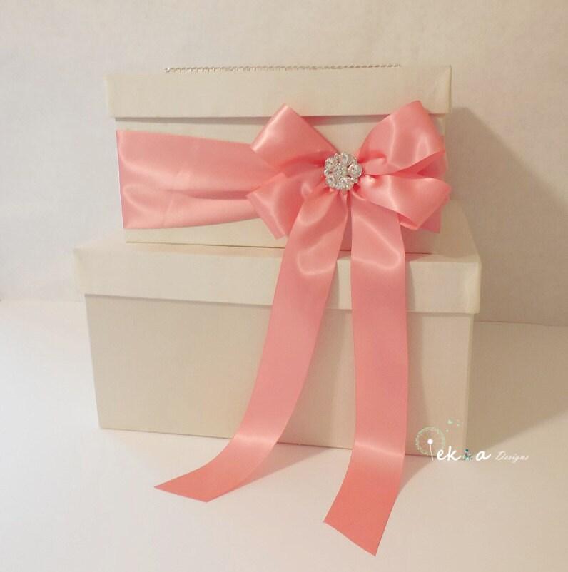 Wedding Gift Card Box Canada : Wedding card box / money box / card holder / gift by eshepDesigns