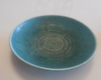 Beautiful 1950s plate / bowl Karlsruhe